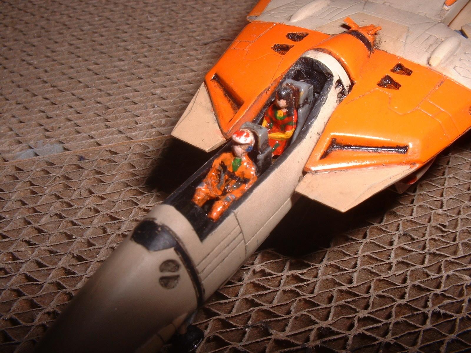 1100 VF-1D 機首部 塗装 .JPG