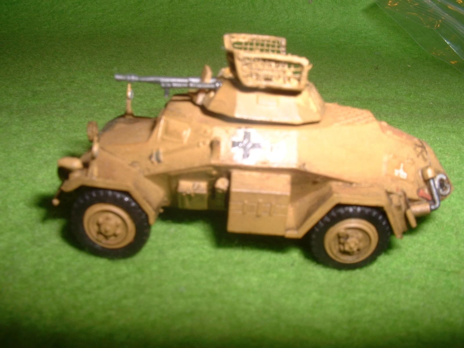 1990年代製作 フジミ 76分の1「Sd.Kfz .222」その5.JPG