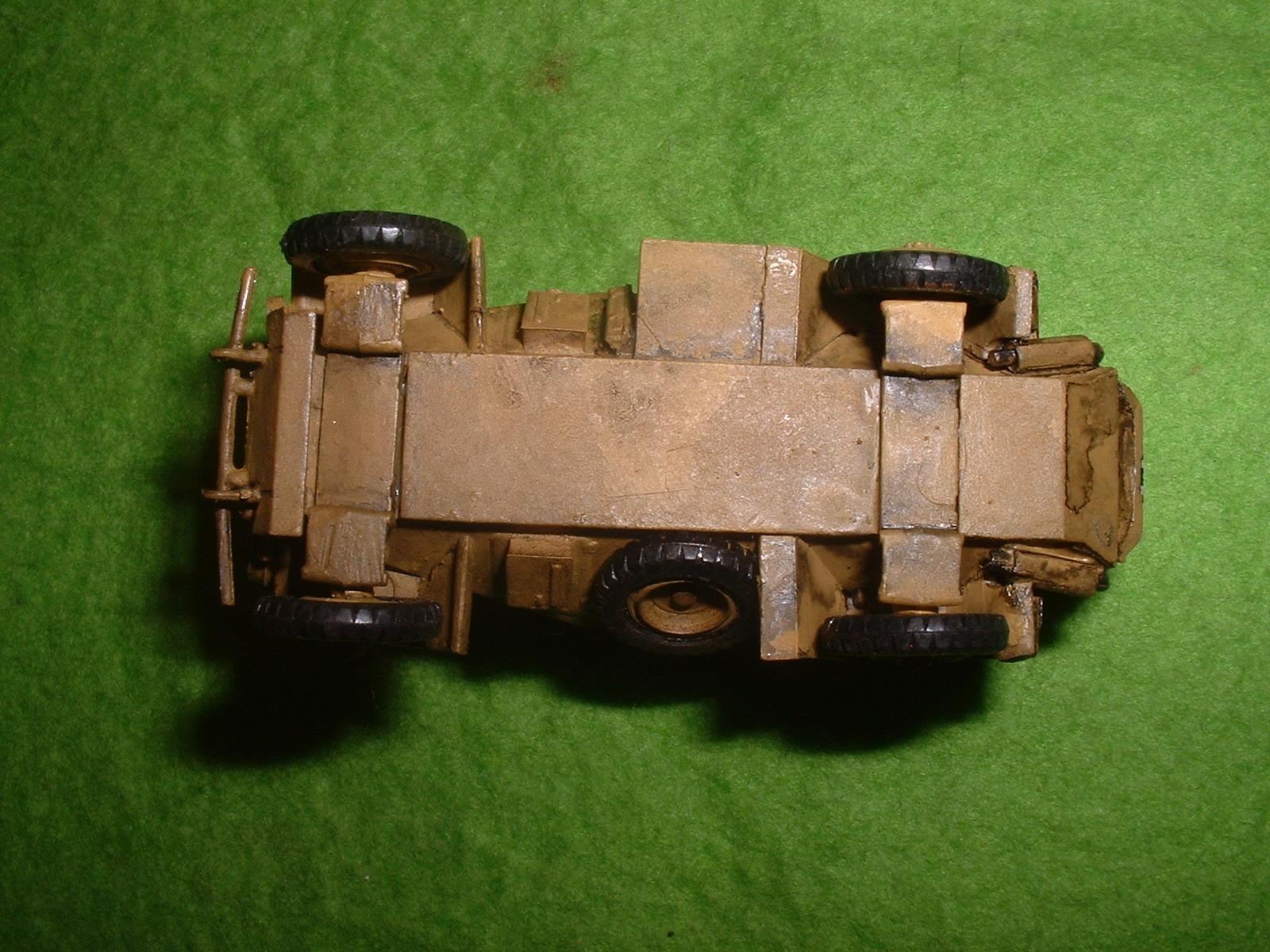 1990年代製作 フジミ 76分の1「Sd.Kfz .222」その7.JPG