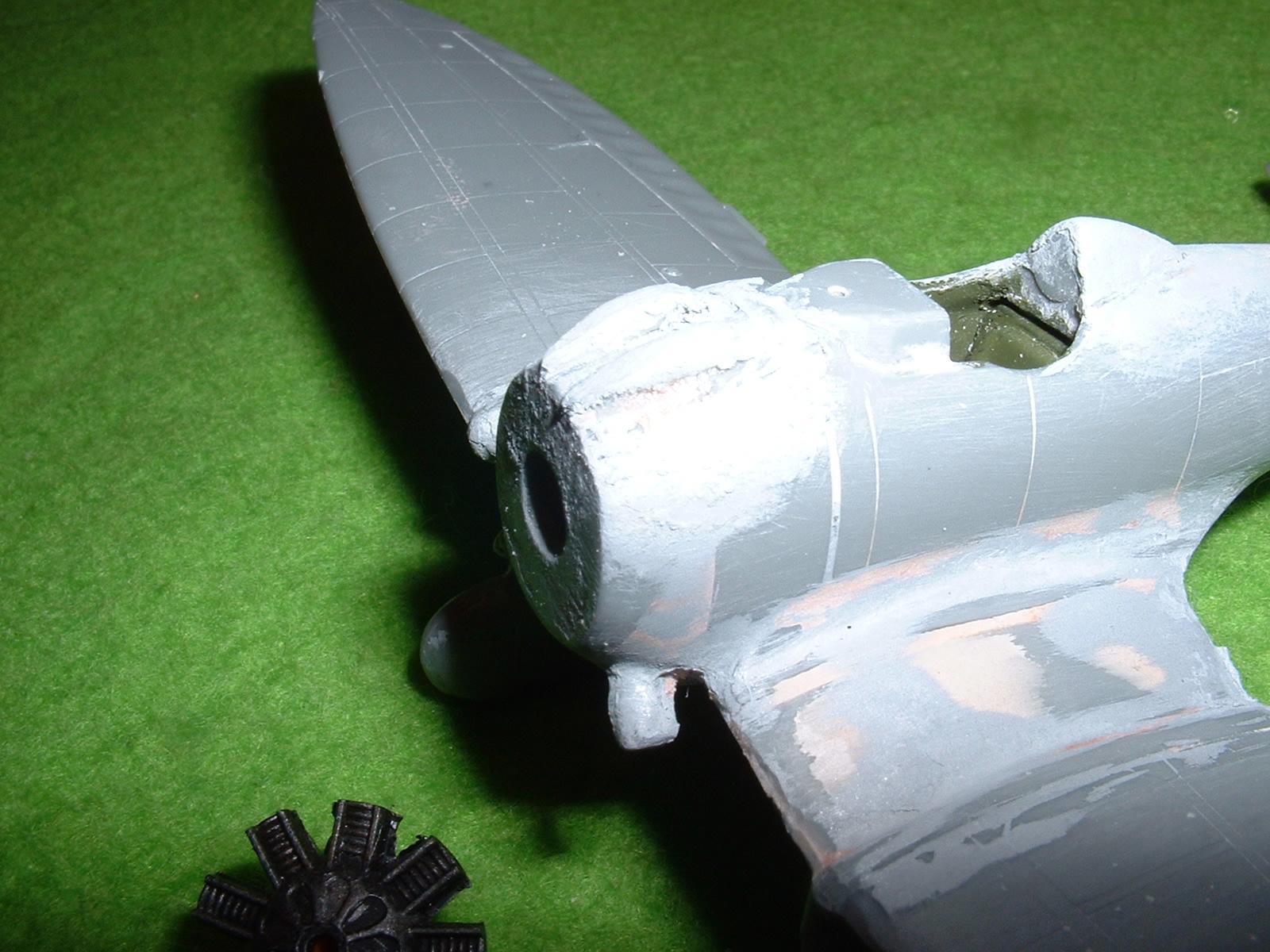2013.08.25 時点での72分の1「9試単座戦闘機」その3 Douro-TAO.JPG