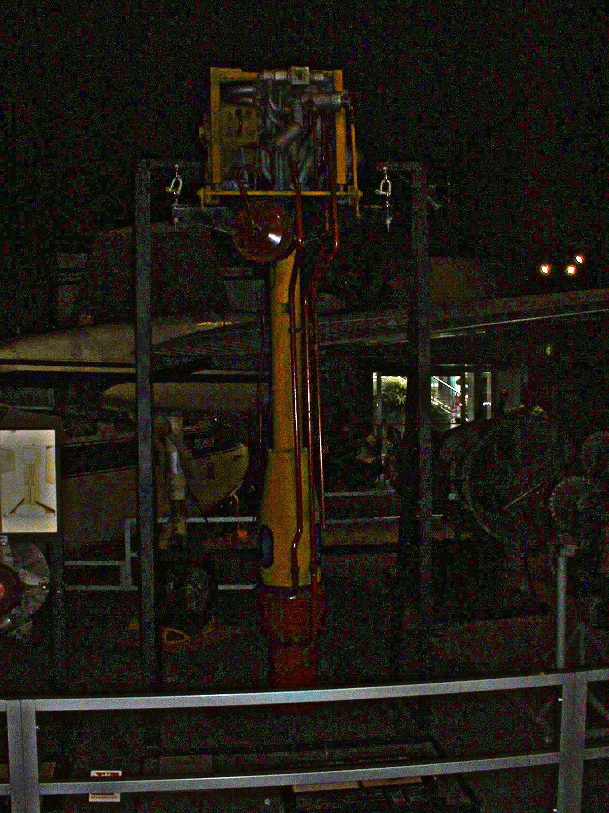 2013年12月08日 大阪港区「交通科学館』所蔵 「Me163 ロケットエンジン 」撮影Doburoku-TAO.JPG