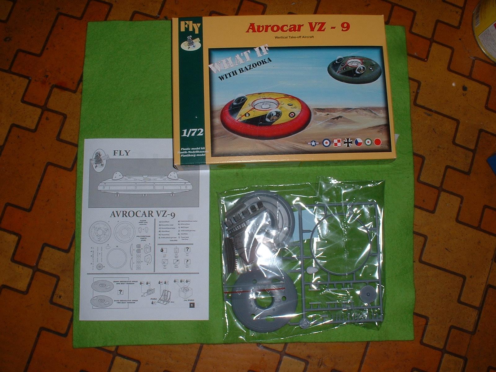 2013年8月4日の散財 72分の1 FLY社 「アブロ(カナダ) VZ-8」 Doburoku-TAO.JPG