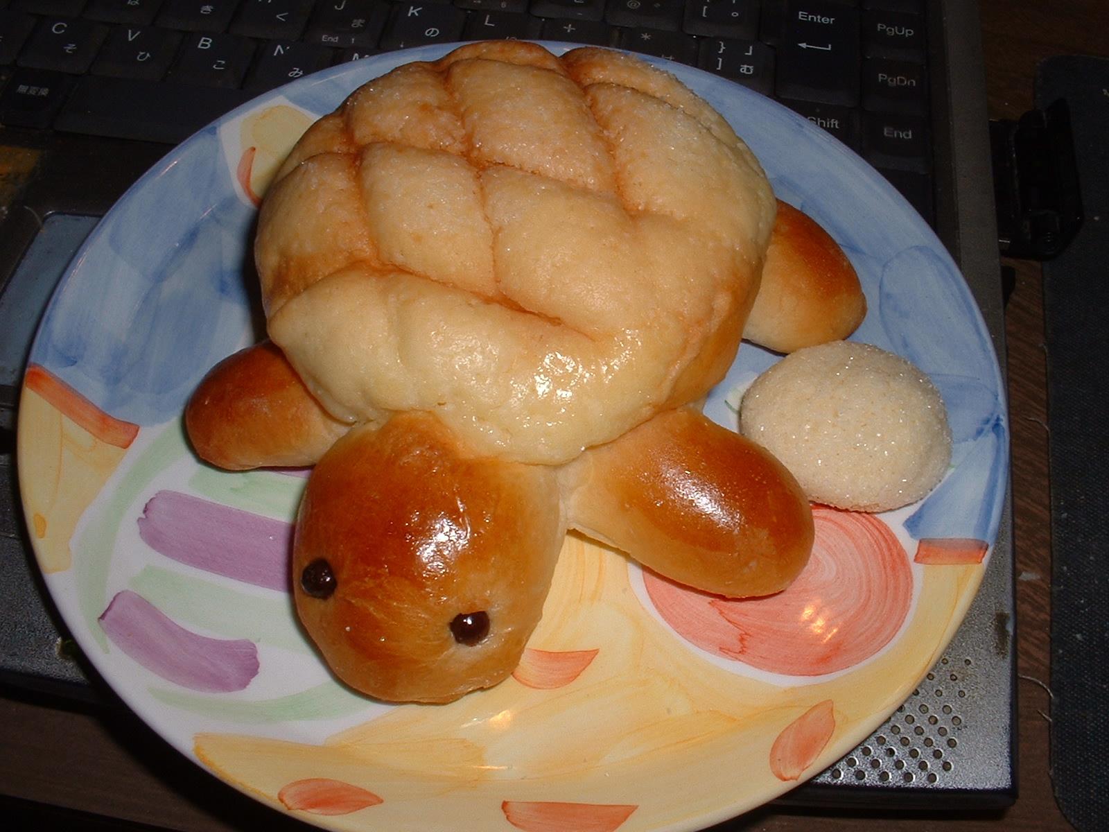 2014年07月03日捕食「カメロンパン(亀パン)」Doburoku-TAO.JPG