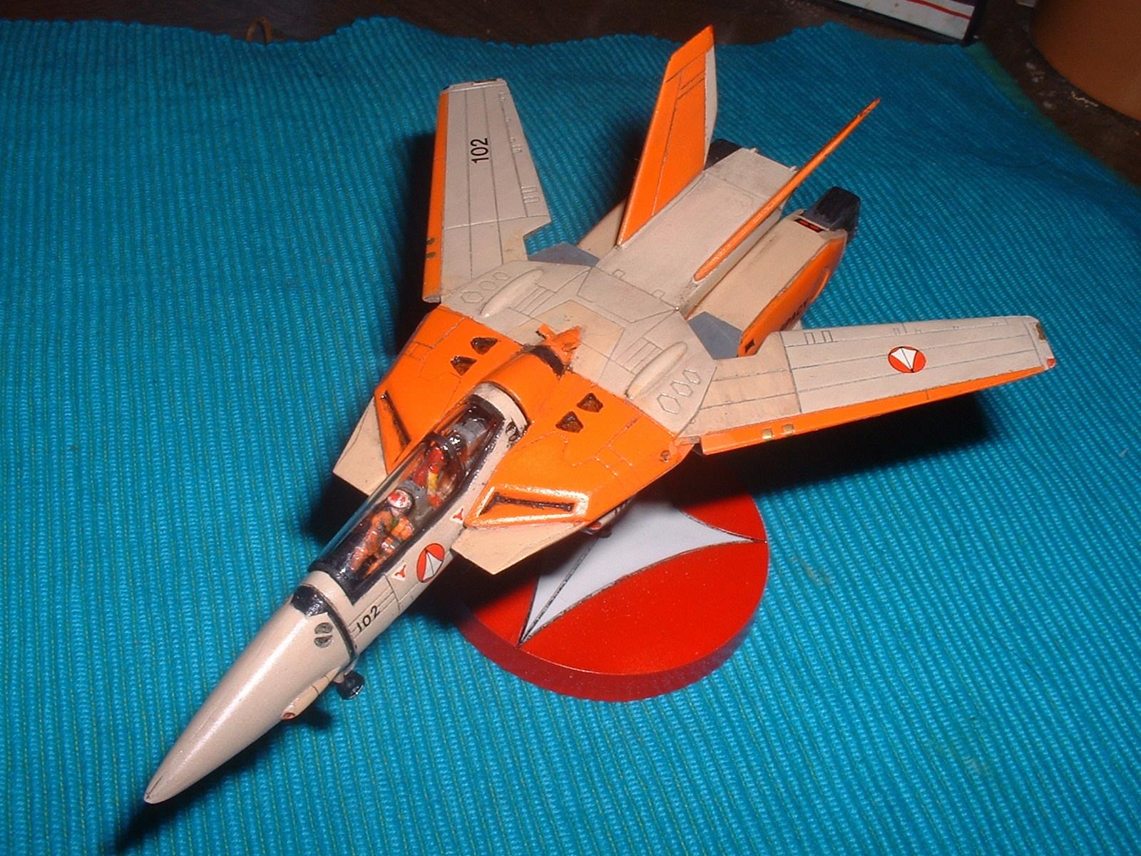 2015.07.20 完成 有井 100分の1 「VF-11Dファイター」その1 Doburoku-TAO.JPG