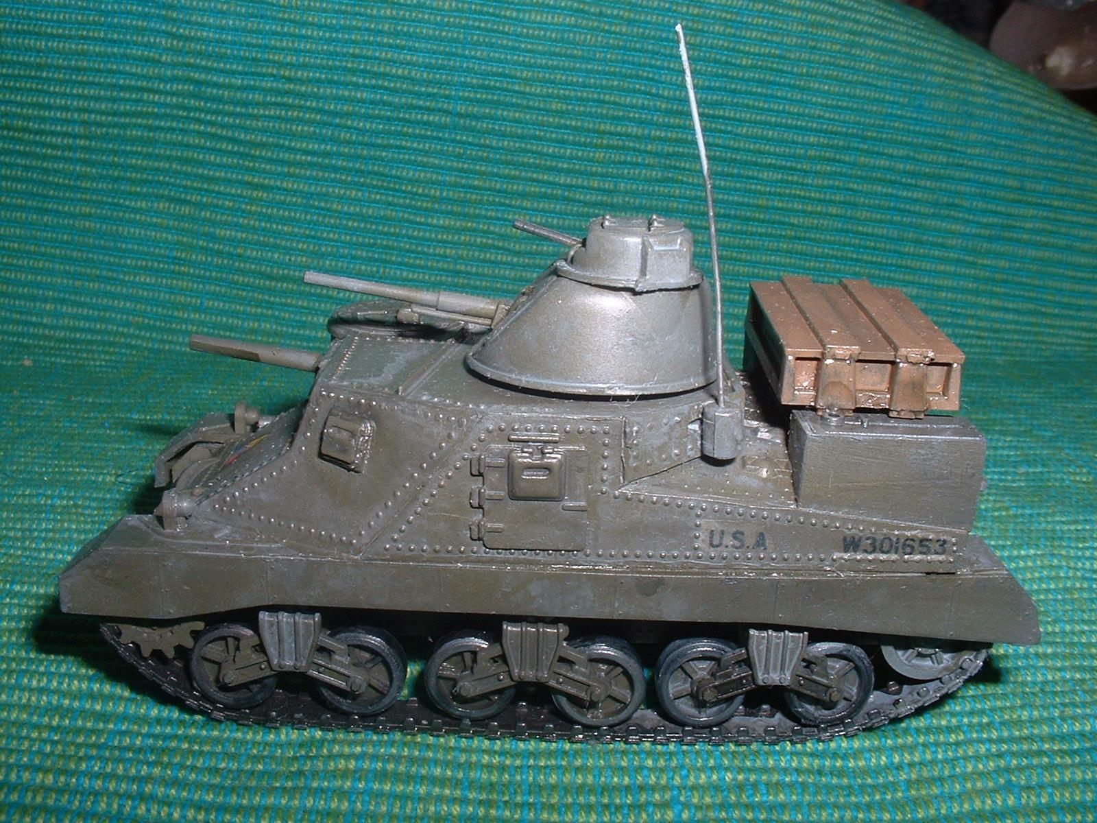 2015.10,12完成 ハセガワ 72分の1 M3 りー戦車 その4.JPG