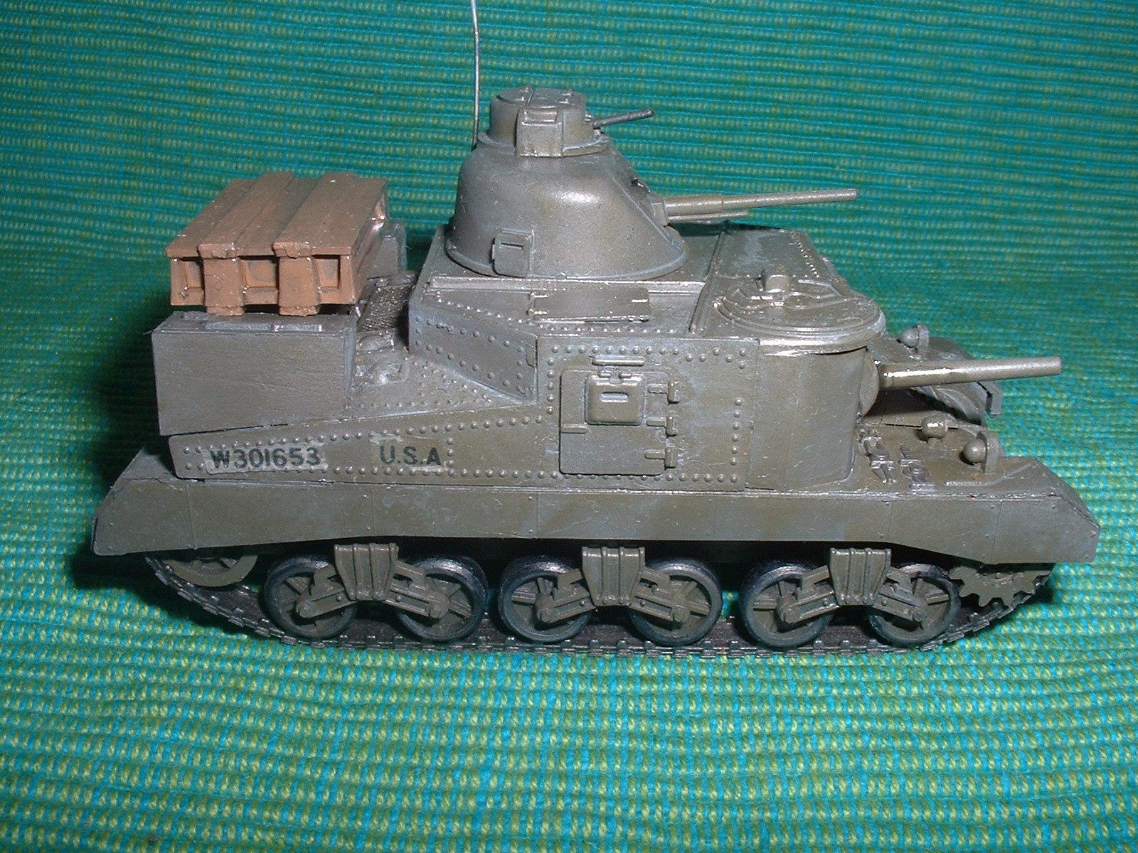 2015.10,12完成 ハセガワ 72分の1 M3 りー戦車 その5.JPG