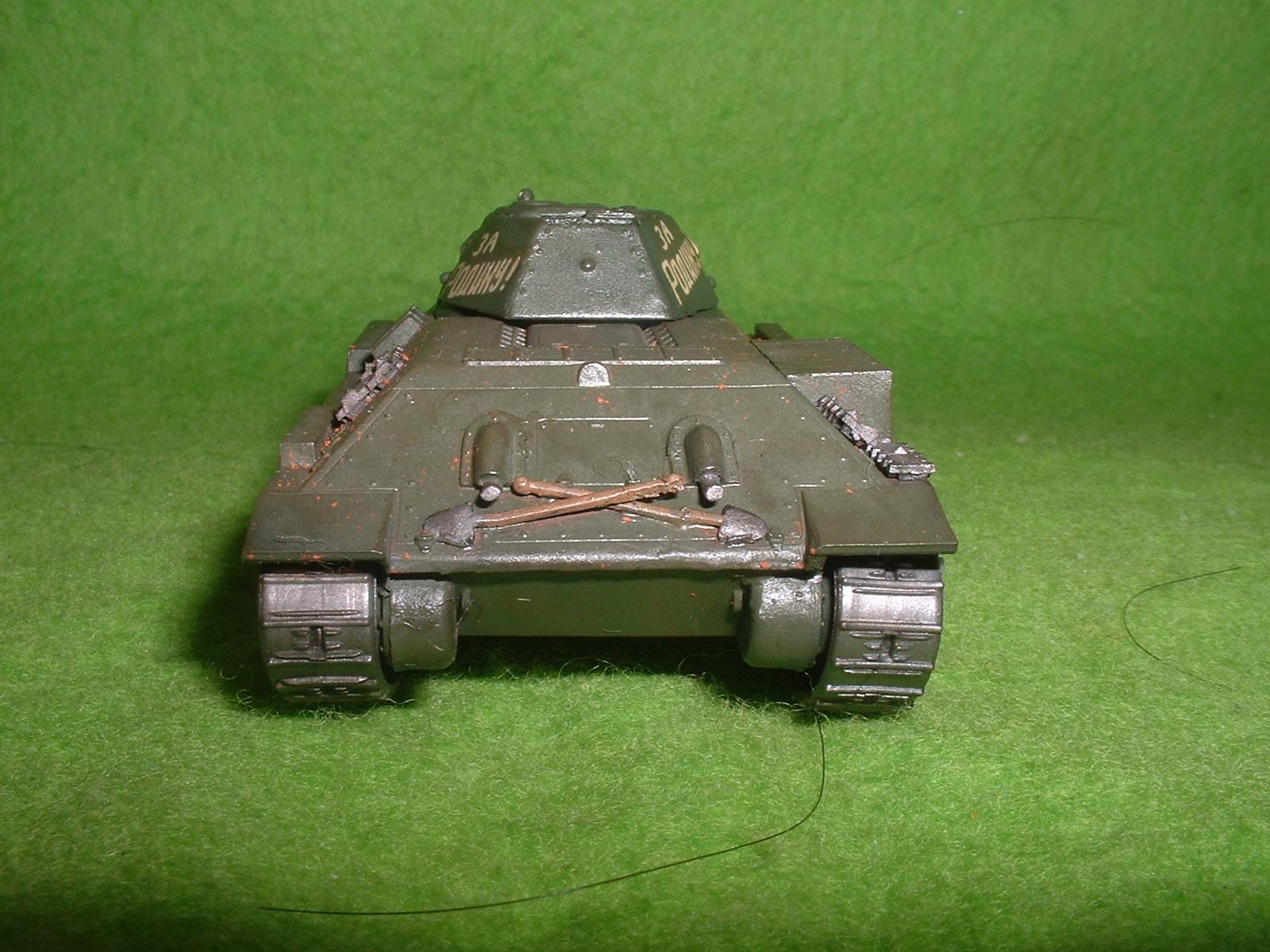 2016.01 .03完成  フジミ 76分の1 「T-34 76A 」戦車その3.JPG