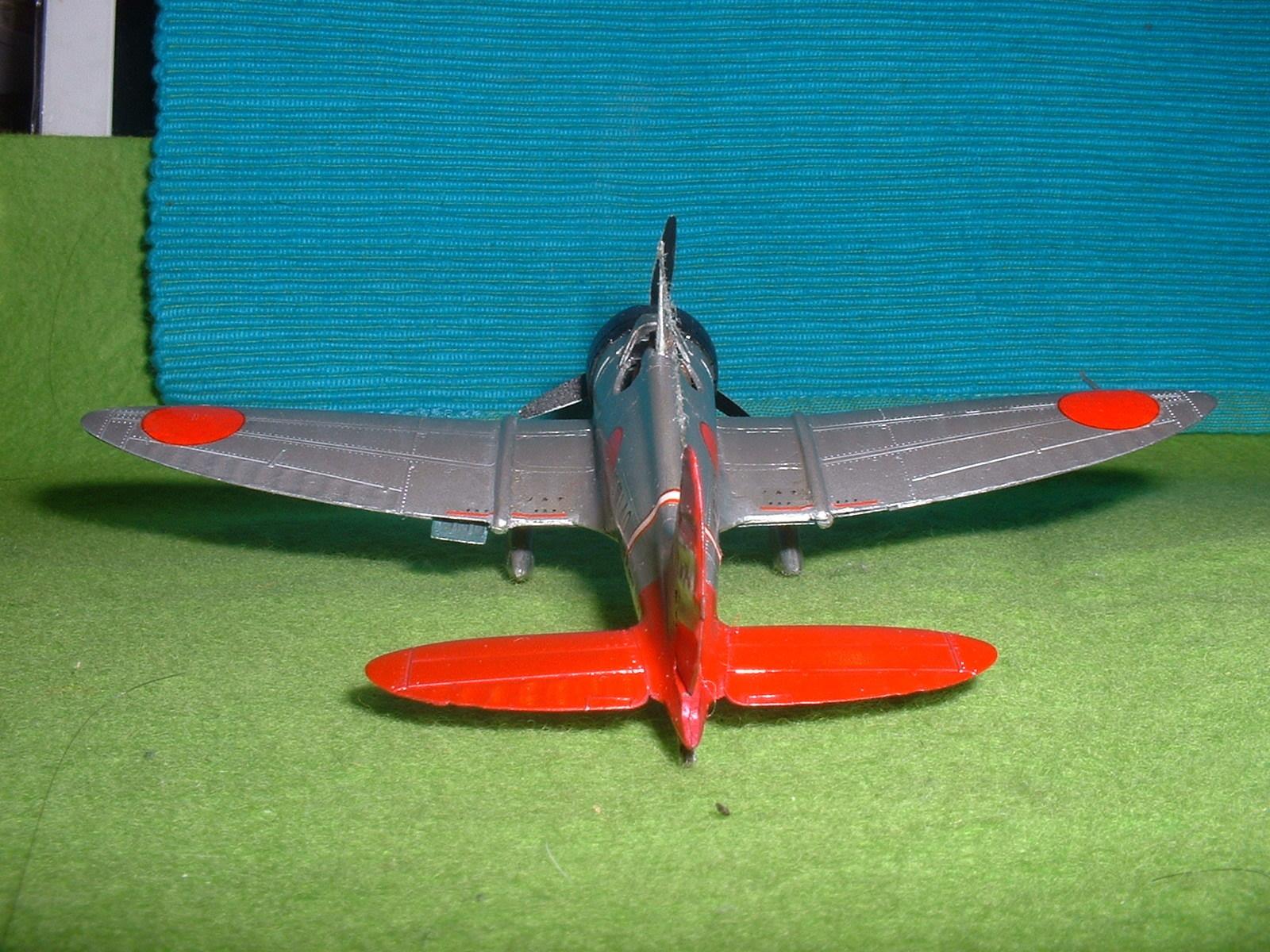 2016年3月27 日完成 日本模型(ニチモ)72分の1「九六艦戦」その3.JPG