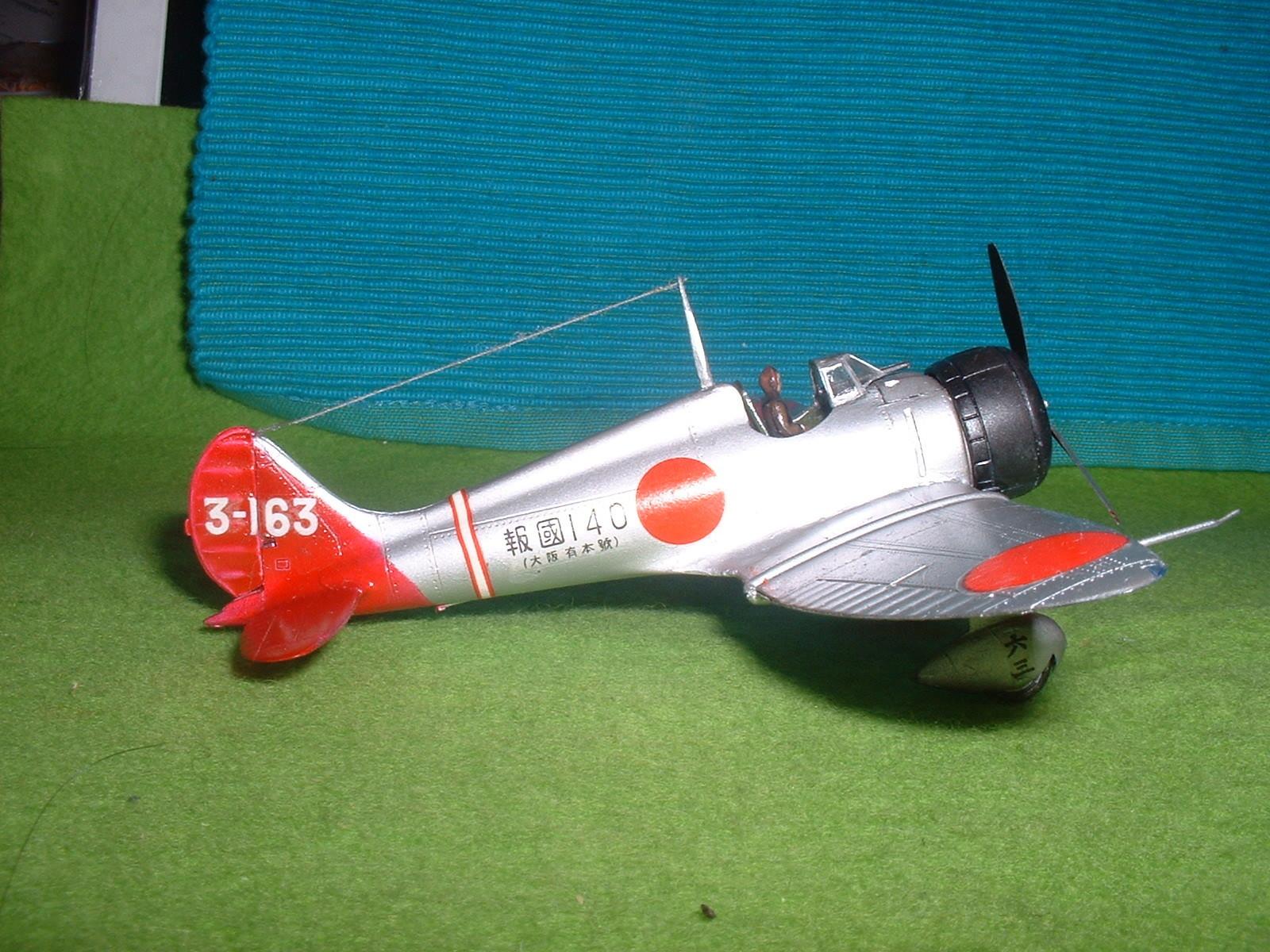 2016年3月27 日完成 日本模型(ニチモ)72分の1「九六艦戦」その5.JPG