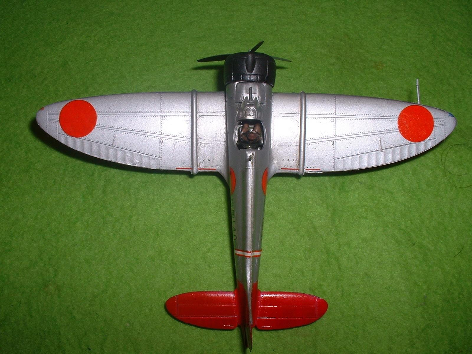 2016年3月27 日完成 日本模型(ニチモ)72分の1「九六艦戦」その6.JPG