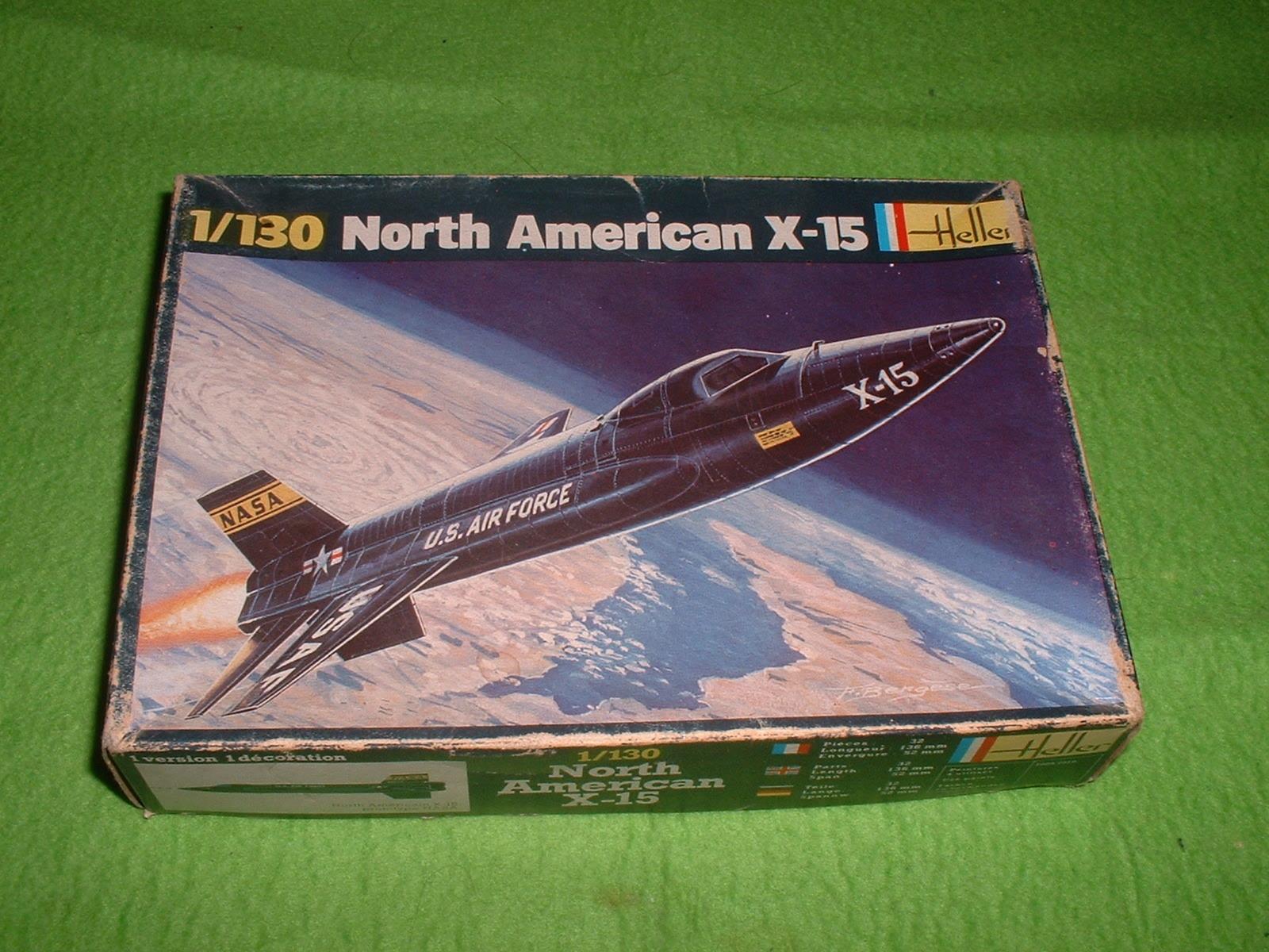 エレール 130分の1「X-15」70年代再販その1.JPG