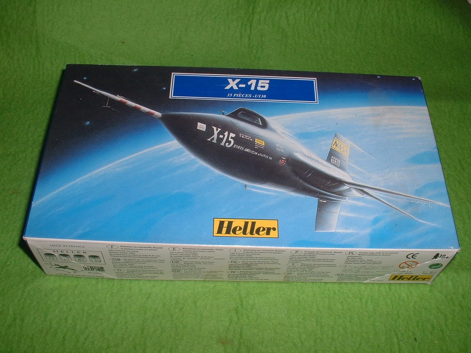 エレール 130分の1「X-15」90年代再販その1.JPG