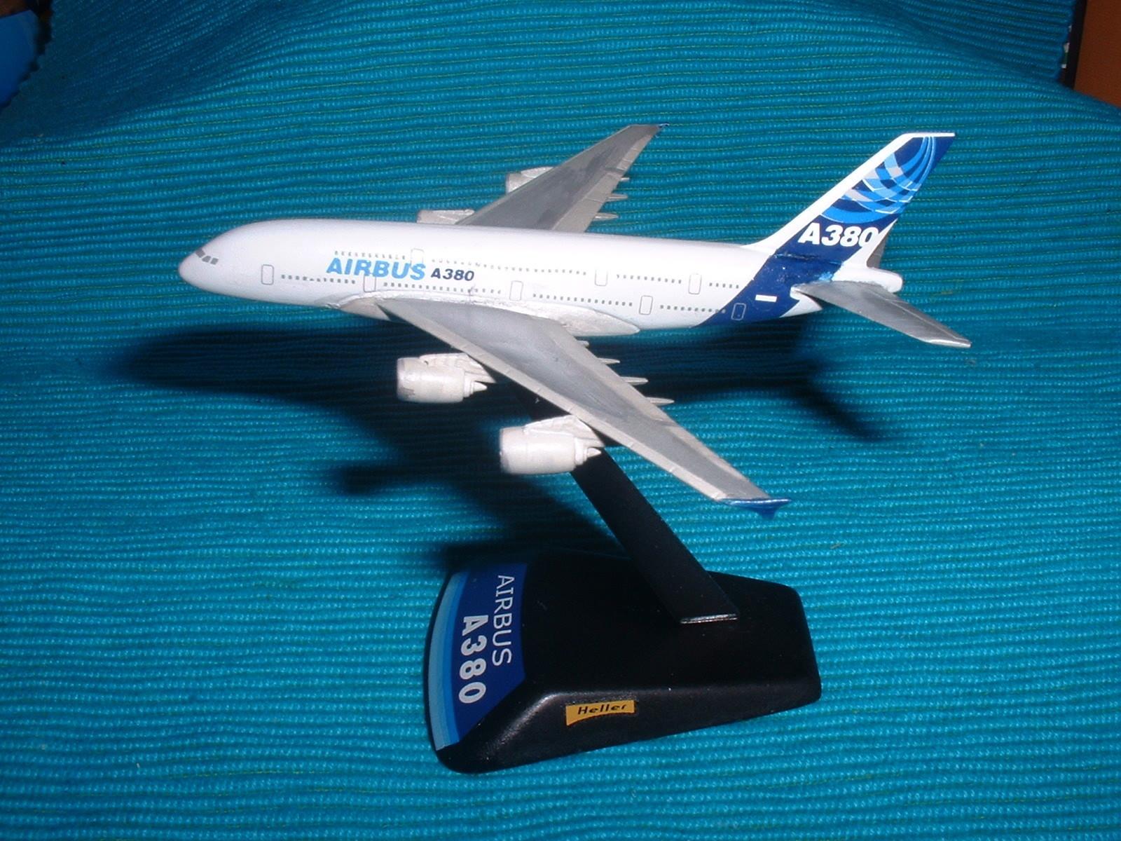 エレール 800分の1「エアバスA380 」その2.JPG