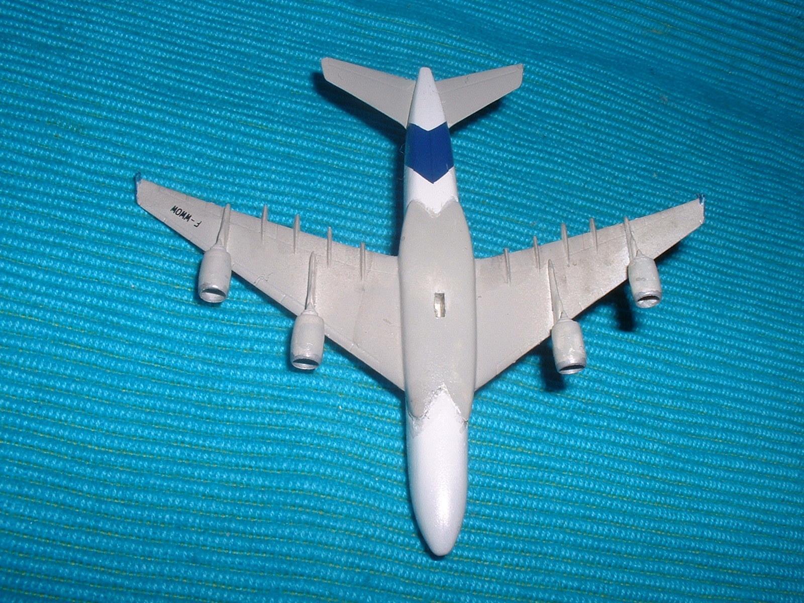 エレール 800分の1「エアバスA380 」その6.JPG