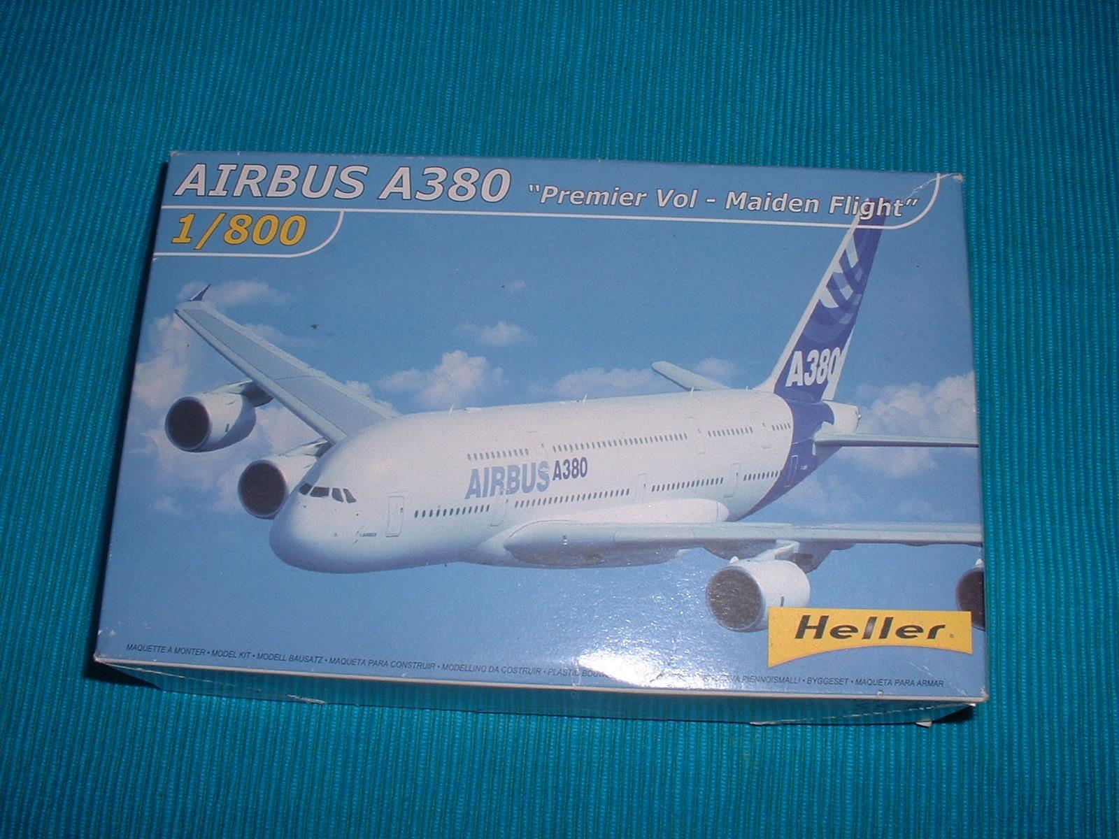 エレール 800分の1「エアバスA380 」外箱.JPG