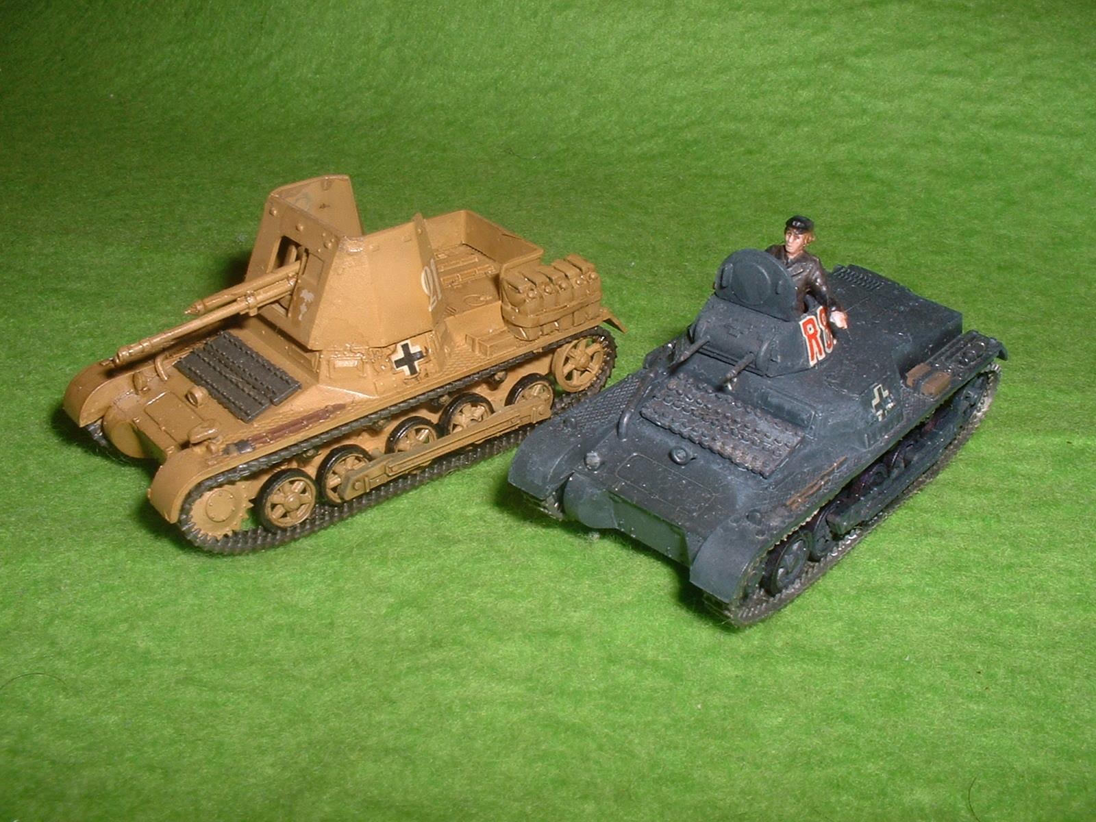 フジミ「1号戦車」関連.JPG