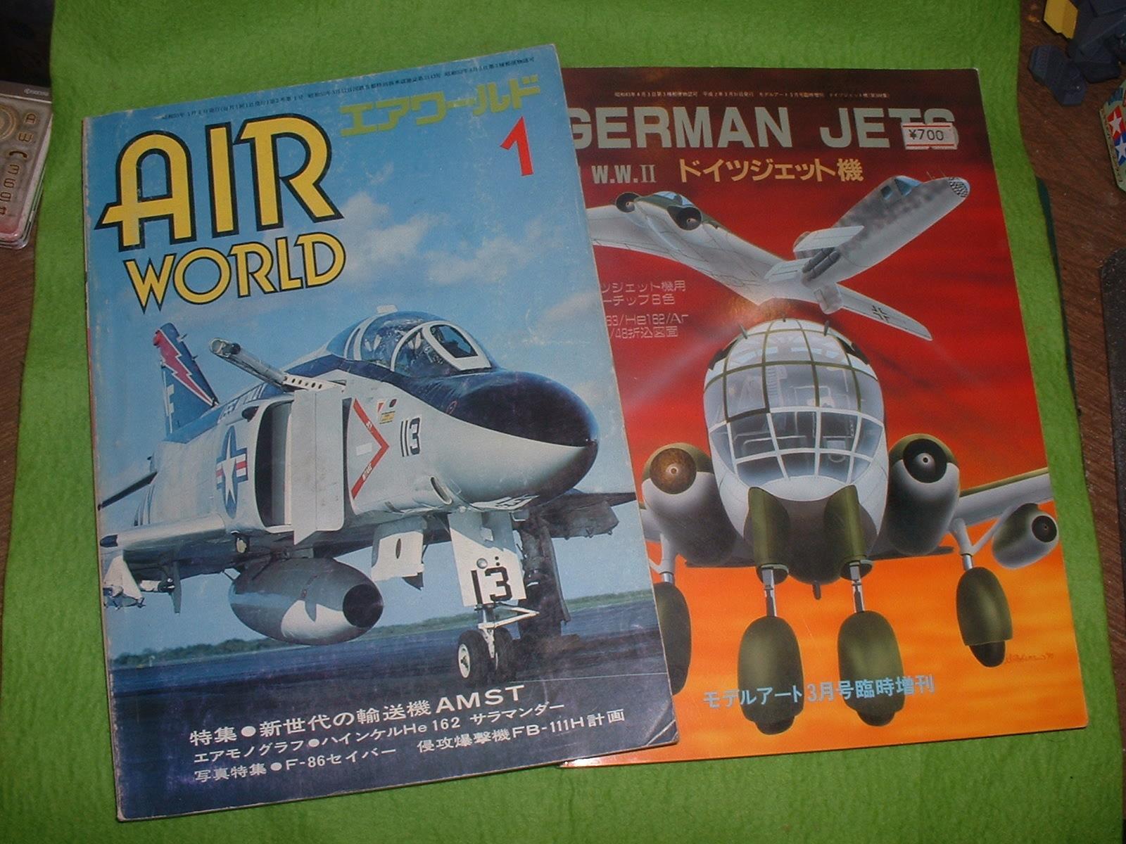 リンドバーク72分の1「ハインケル He162 」製作にあたって読んだ本.JPG