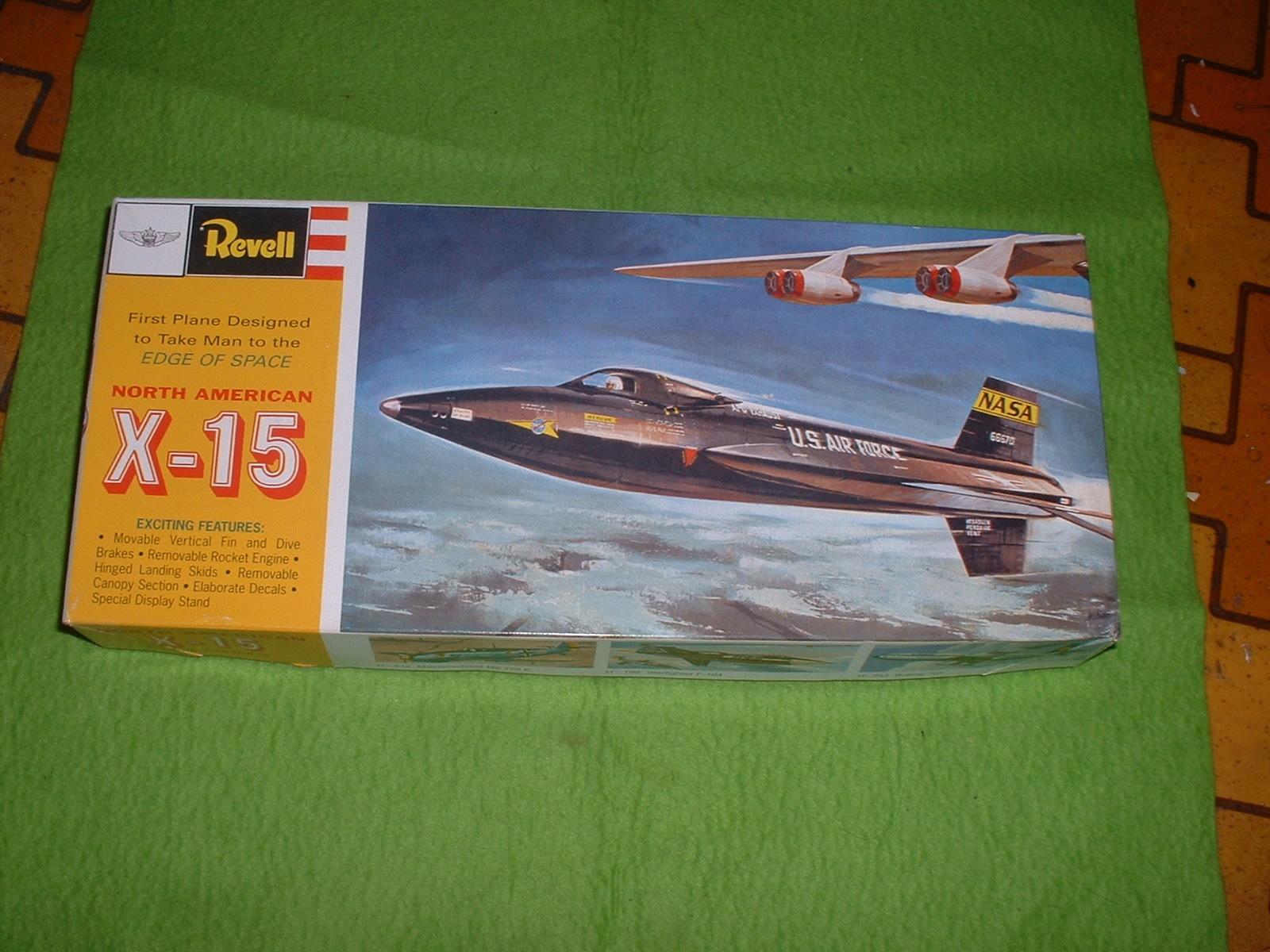 レベル 65分の1「X-15」90年代再販その1.JPG