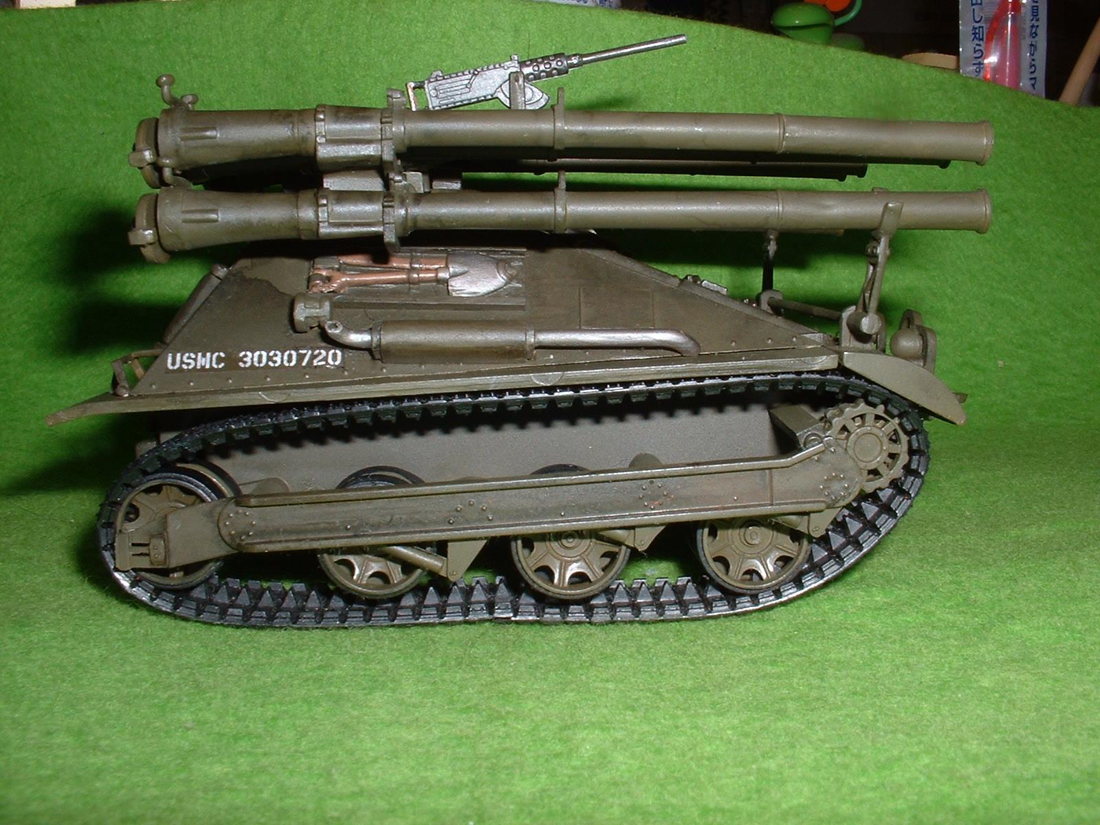 レベル社 32分の1「M-50 オントㇲ」 右側面 Doburoku-TAO.JPG.JPG