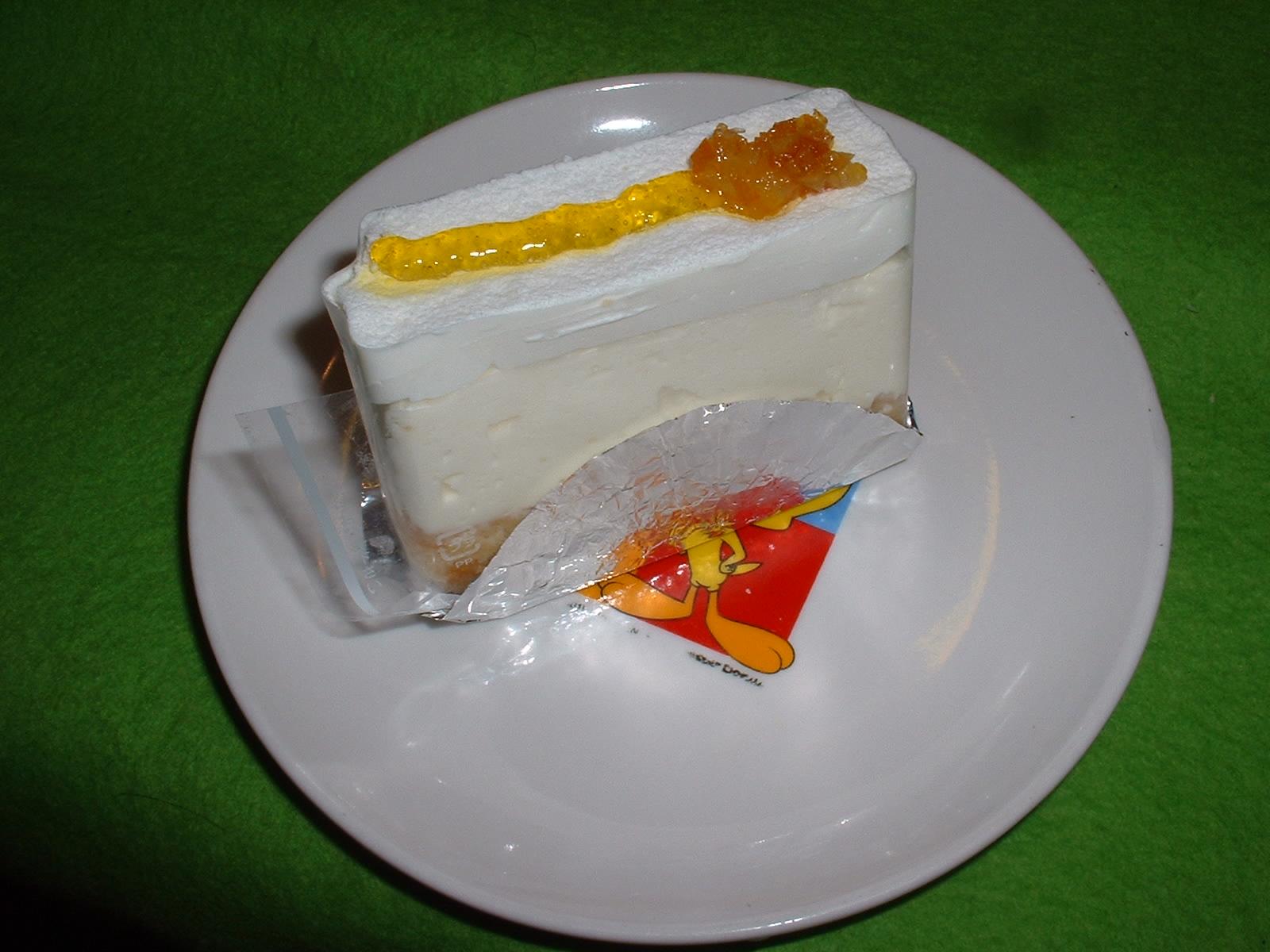 今日の甘いもの 2014年12 月30日 ノエル「レアチーズケーキ」 Doburoku-TAO.JPG