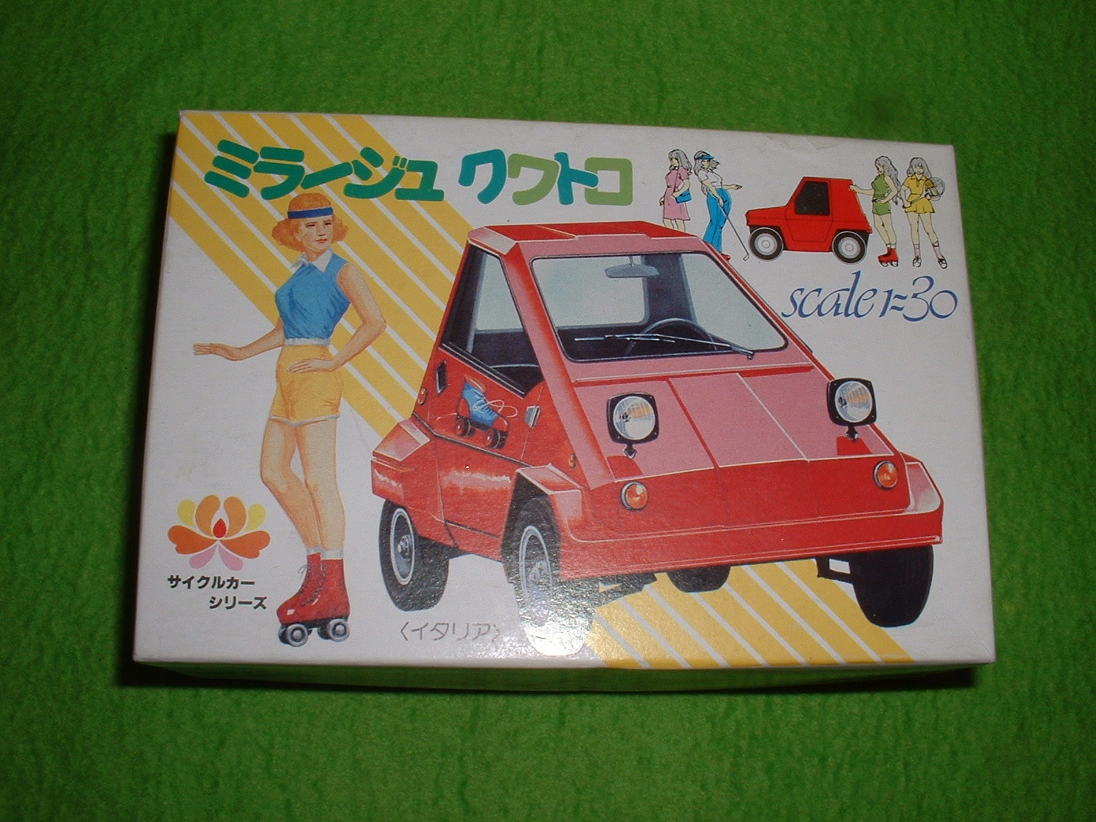 河合商会 サイクルカーNo2「ミラージュ クワトロ」 Doburoku-TAO.JPG