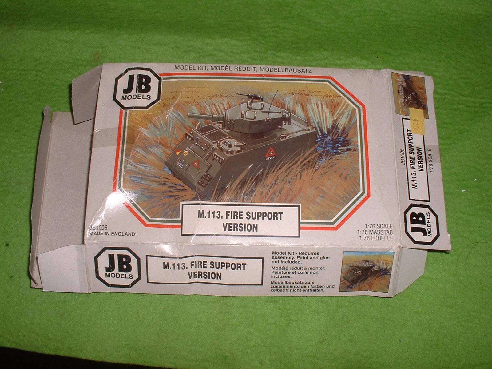 JBモデル 72分の1「M.113 ファイヤーサポート」外箱 その1.JPG