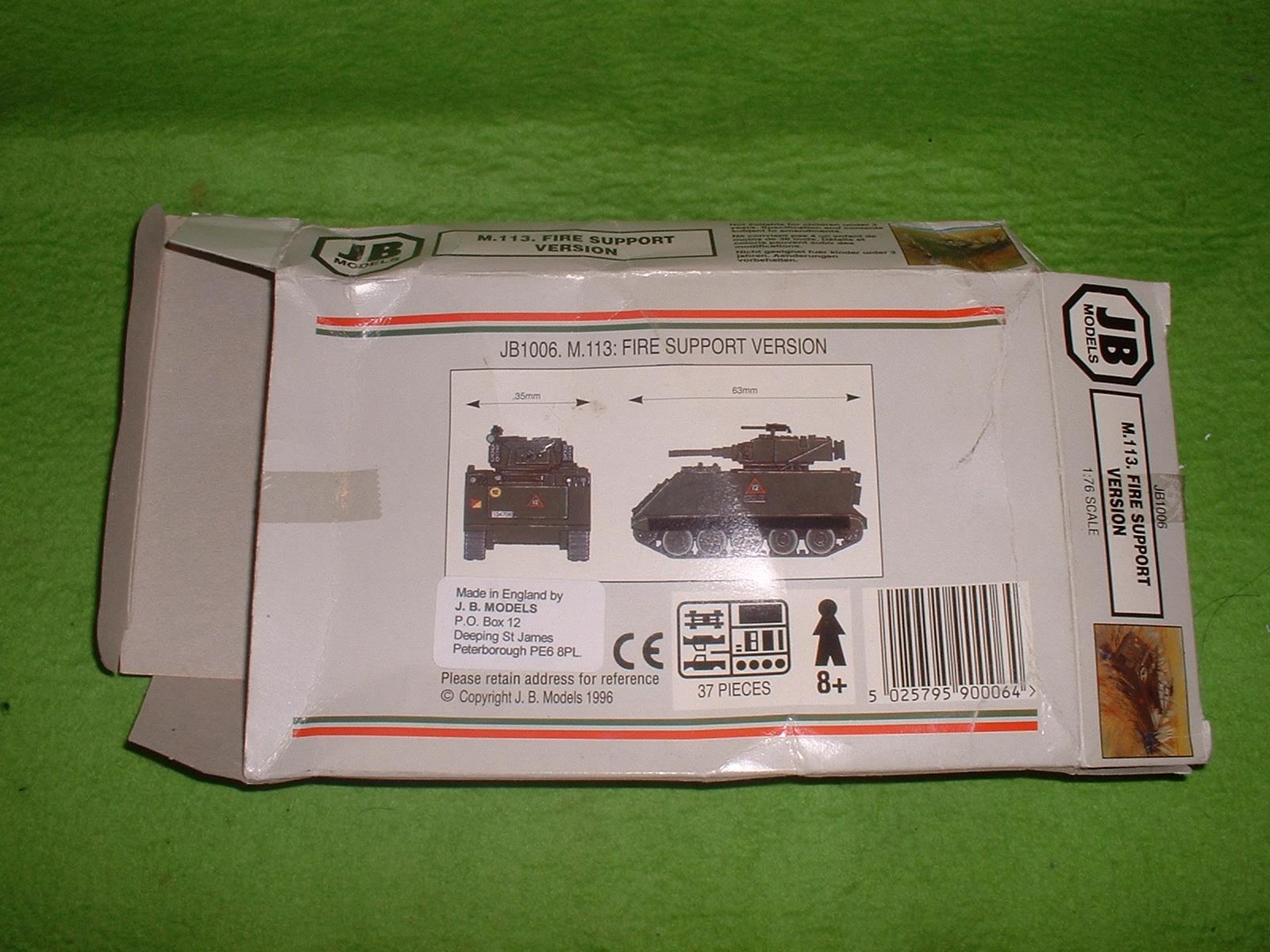 JBモデル 72分の1「M.113 ファイヤーサポート」外箱 その2.JPG