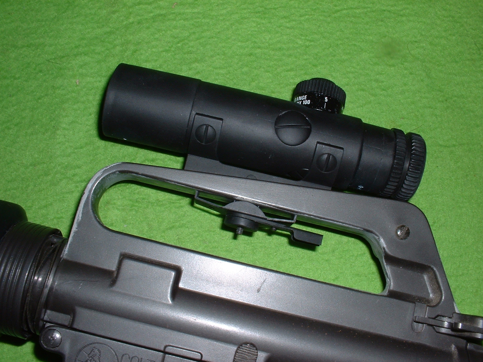 LS 「M16用スコープ 」を装置 Doburoku-TAO.JPG