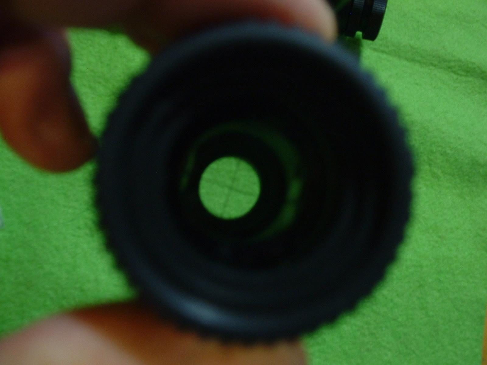 M16用 スコープを覗くDoburoku-TAO.JPG